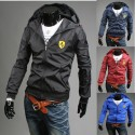 Ferrari vārna vīriešu vējjaka jaka