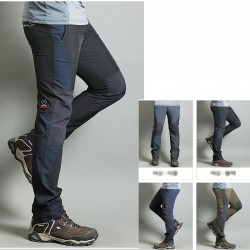Mężczyźni wędrówki Pant cool boczne stałe spodni na udo