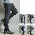 men's hiking pant's cool side solid thigh trouser's