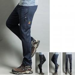 мъжки туризъм панталоните е готино решетка корица на панталоните си