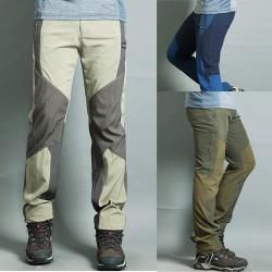 extrime rece nouă broderie largă de pantaloni de bărbați de pantaloni pentru drumeții lui