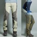 мъжки туризъм панталоните е супер нов extrime широка бродерия на панталоните си