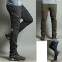 fresco carico cerniera doppia pantaloni di escursioni di pantaloni da uomo