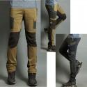 Mężczyźni wędrówki Pant cool cargo kieszeni spodni na asymetrię