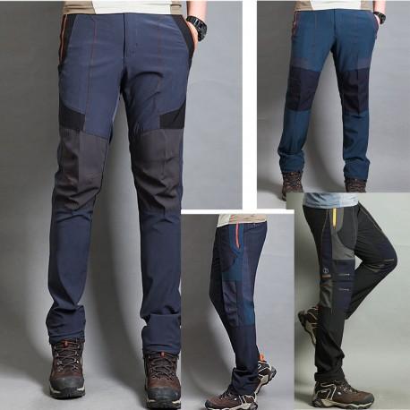 Di fronte al freddo tripla cuneo pantaloni di escursioni di Mutanda degli uomini
