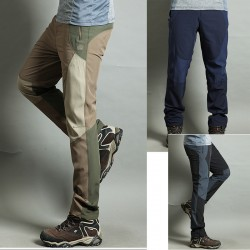 men's hiking pant's cool perspire embroidery trouser's