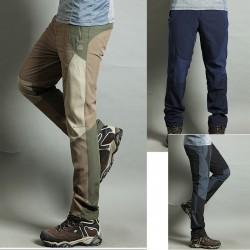 Mężczyźni wędrówki Pant cool przeszycia spodni na przepocić