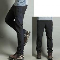 Mężczyźni wędrówki Pant cool pocić kieszeni spodni na skręt