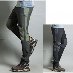 Mężczyźni wędrówki Pant cool pocić spodni khaki przestrzenne użytkownika