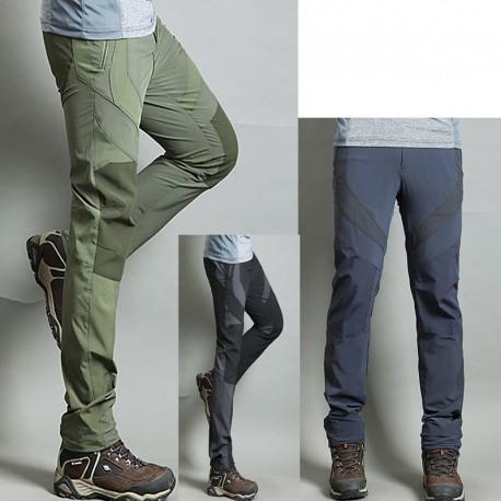 fresco solida armatura pantaloni di escursioni di pantaloni da uomo