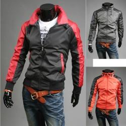 Benzersiz kol erkek rüzgarlık ceket