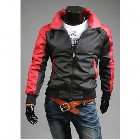 unique sleeve men's windbreaker jacket