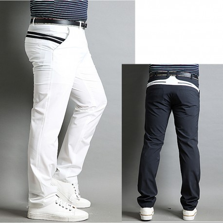 men's golf summer cool pant's hip long line