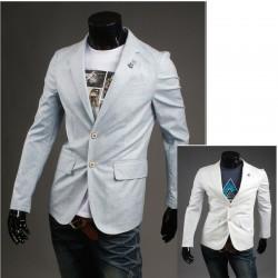 blazer noktası üçlü renk şerit erkek
