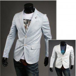 Point blazer ruban triple couleur hommes