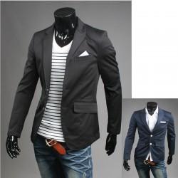stribe lommetørklæde mænds blazer