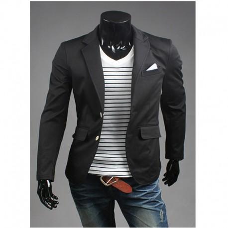 giacca sportiva degli uomini striscia fazzoletto