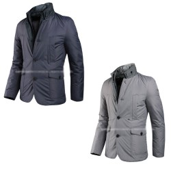 mens padding blazer jacket china collar