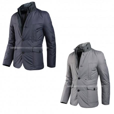 mens padding blazer jacket china collar