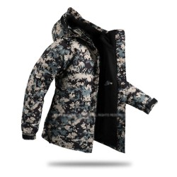mens snow board jacket camouflage army