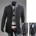 мужские пальто двойной слой