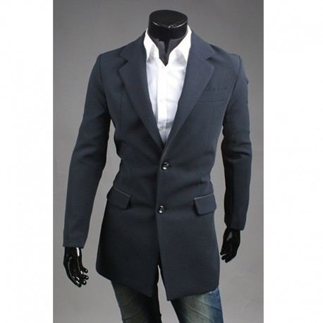 men's double layer coat
