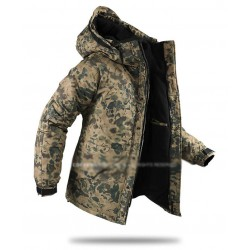 mens snow board jacket dark camouflage