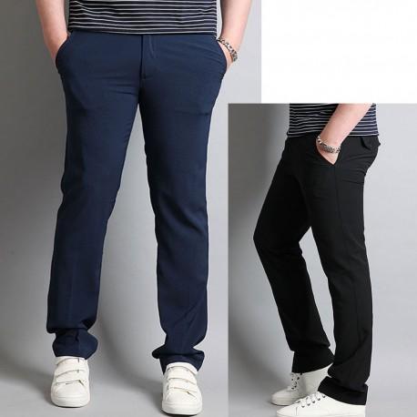 men's golf pant's slim fit hidden banding