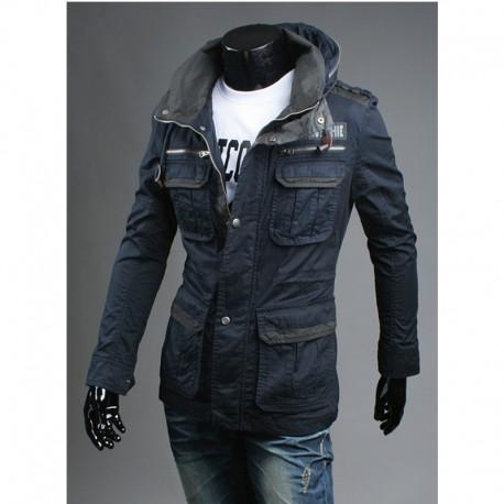 militari giacca 4 tasche degli uomini