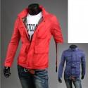 4 Pocket husí styl pánská bunda větrovka