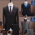 men's suit 2button multi 120su stripe