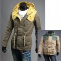 épaule veste militaire safari pour hommes