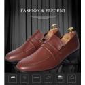 mens formal loafer shoes 2color