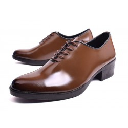 mens dress wedding shoes plain toe classic