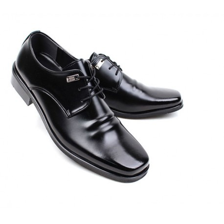 mens plain toe derby shoes pointed toe