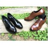 mens straight tip tuxedo suit shoes