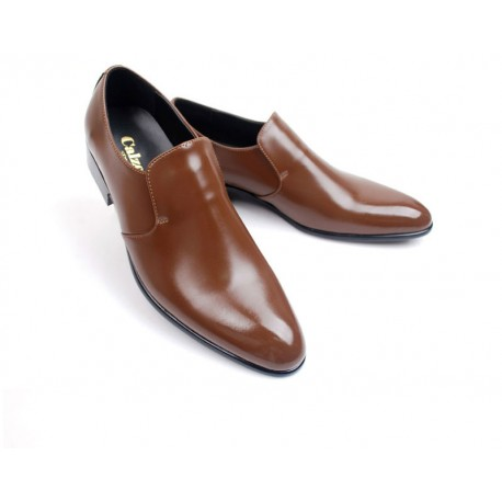 mens plain toe shoes loafer