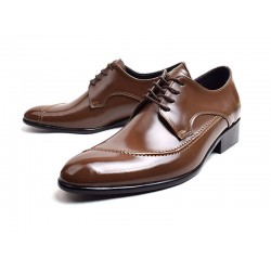 mens derby solid business shoes