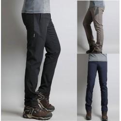 men's hiking pants triangle side