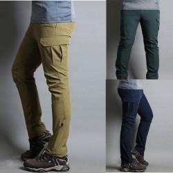 mens hiking pants wallet single side pocket