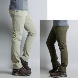 mens hiking pants inner double side zipper pocket