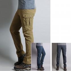 mens hiking pants wallet double pocket