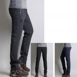mens hiking pants twist zipper thigh zipper
