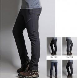 mens hiking pants slim thigh span twist point