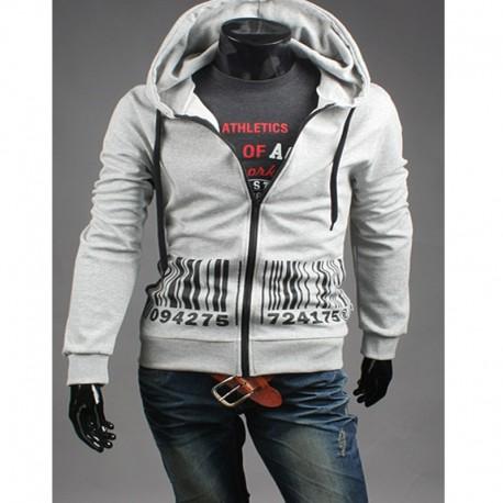 kişi hoodie barkod zip