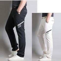men's golf pants unique side line