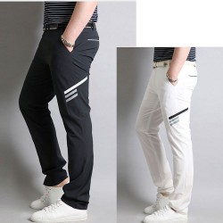 мъжки проверка карирана голф панталони класически проверка тартан
