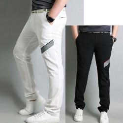 Meeste pleed check golf püksid klassikaline tartan tšeki