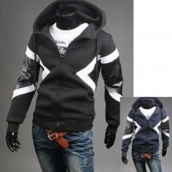 mäns hoodie zip upp Neil Barrett stil neoplan