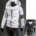men's hoodie zip up thom brown style neoplan